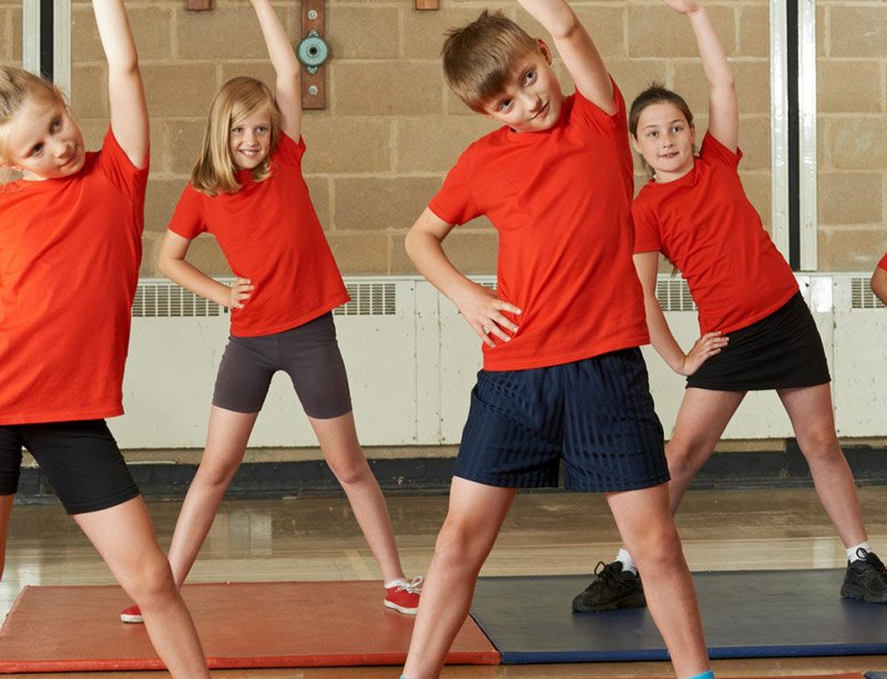 Are our children getting enough exercise?