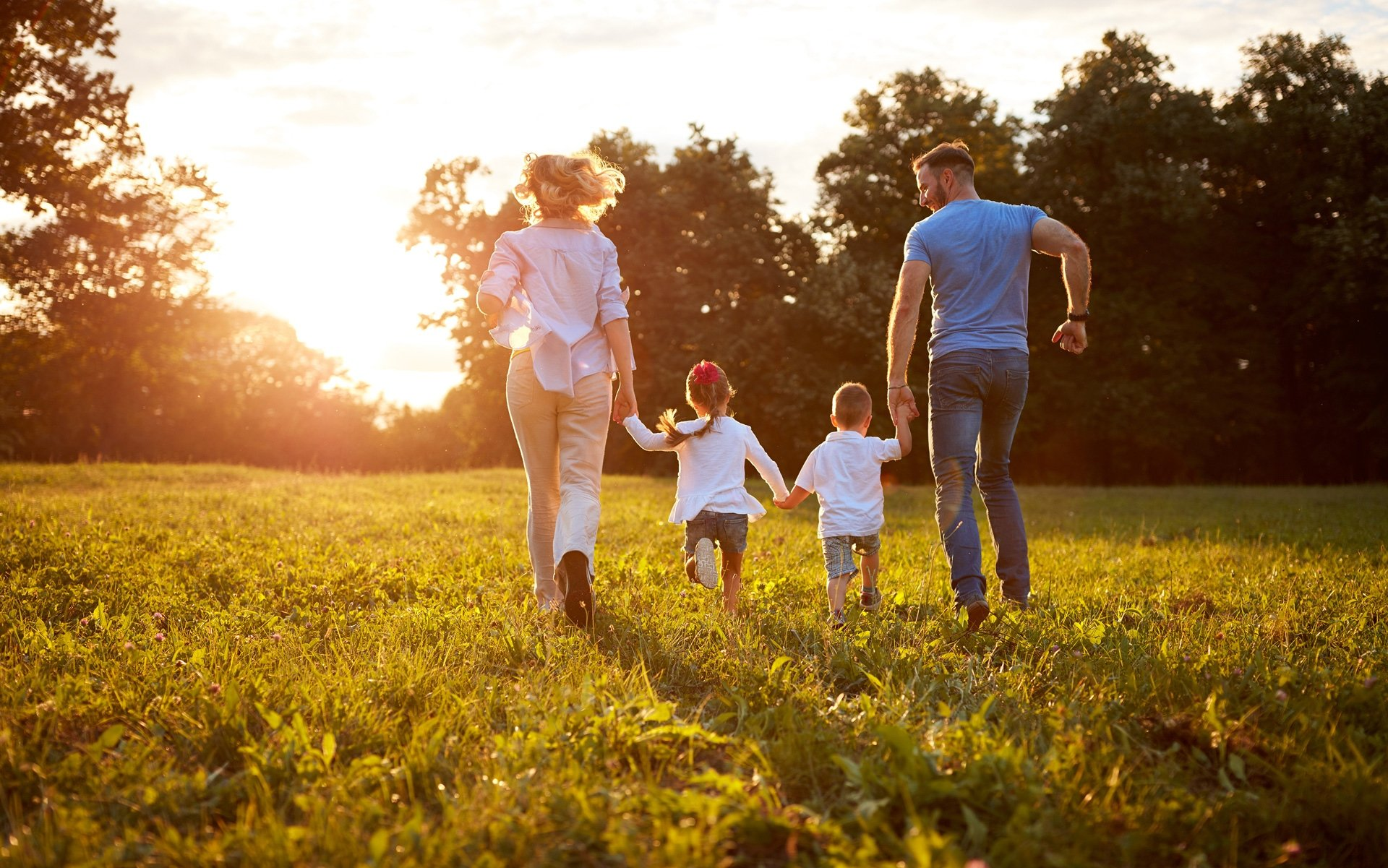 Benefits of running as a family